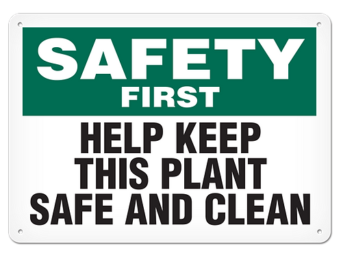 Safety First - Help Keep This Plant Safe And Clear