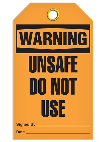 WARNING - Unsafe Do Not Use