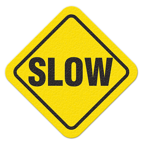 Slow Floor Sign