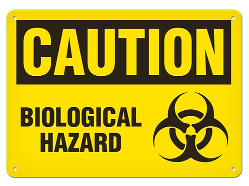 Caution - Biological Hazard