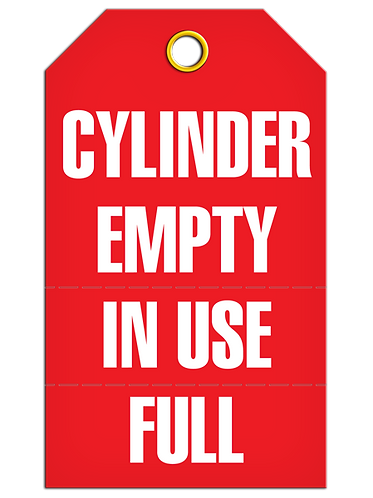 Inspection  -  Cylinder Empty/In Use/Full (Perforated)