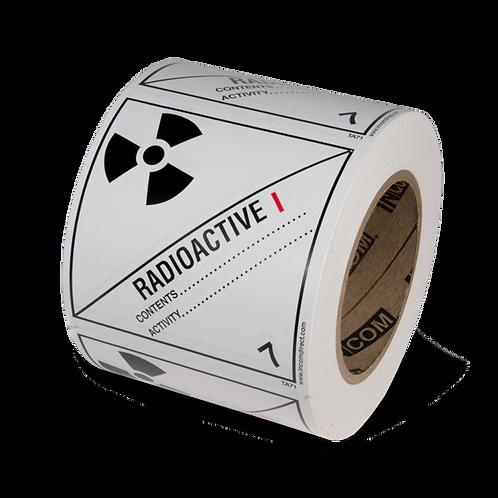 Class 7 - Radioactive Materials I - White