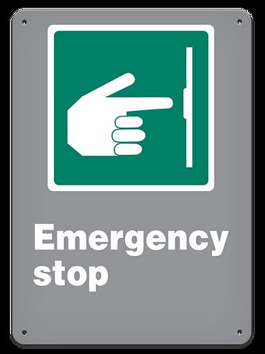 EMERGENCY - Emergency Stop