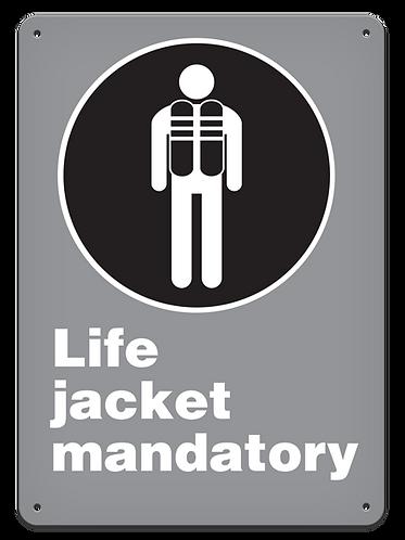 MANDATORY - Life Jacket Mandatory