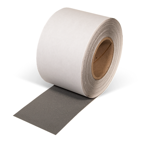 "4"" x 60"" Rubberized Resilient Anti-Slip Tape (Gray)"