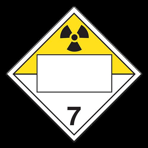 Class 7 - Radioactive Materials