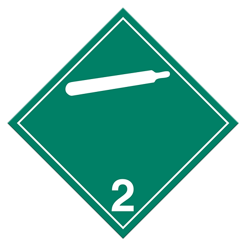 Class 2.2 - Non-Flammable & Non-Toxic Gases TDG Truck Placards