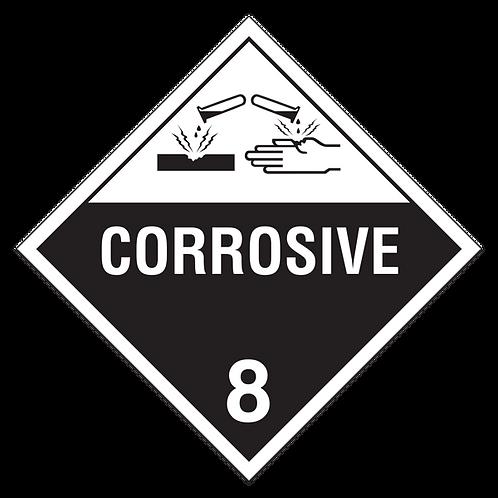 Class 8  - Corrosives