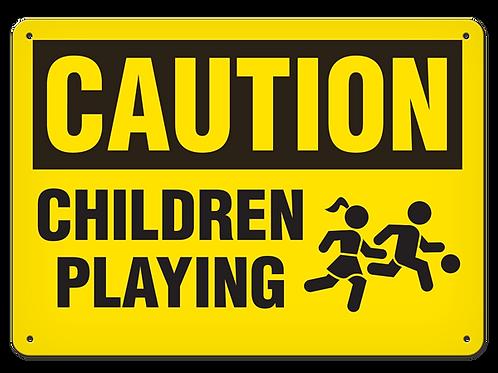 Caution - Children Playing
