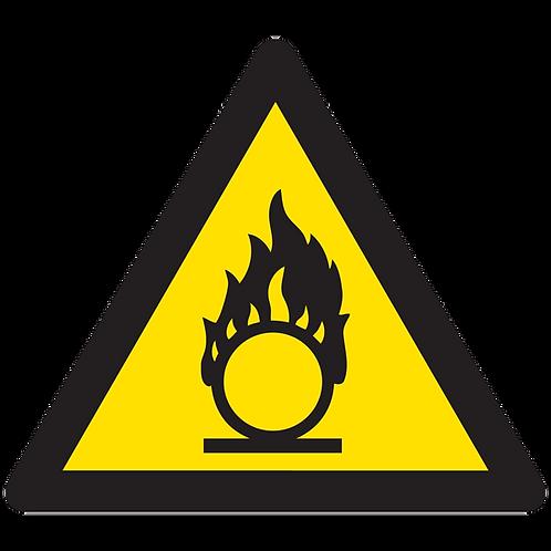 WARNING - Oxidizer Hazard