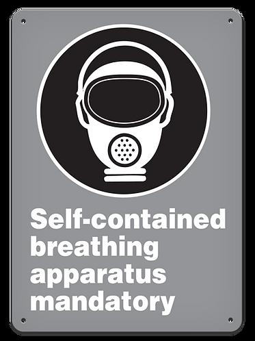 MANDATORY - Self-contained Breathing Apparatus Mandatory