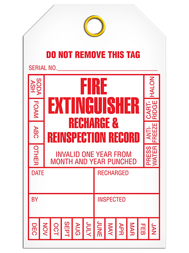 Inspection  -  Fire Extinguisher