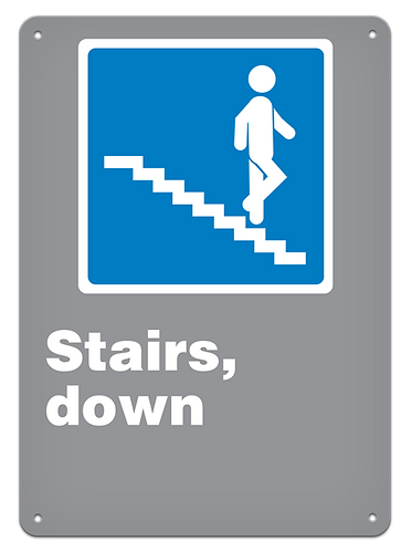 GENERAL - Stairs, Down
