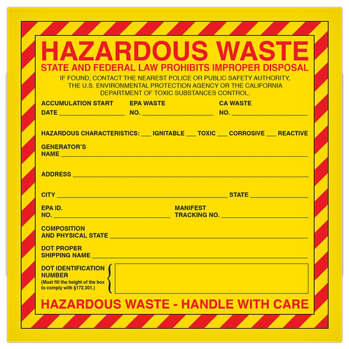 Hazardous Waste State and Federal Law