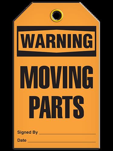 WARNING - Moving Parts