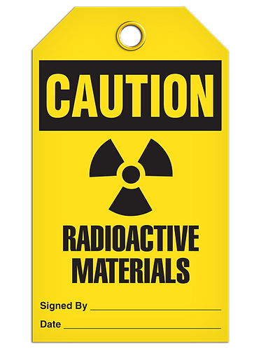 CAUTION - Radioactive Materials