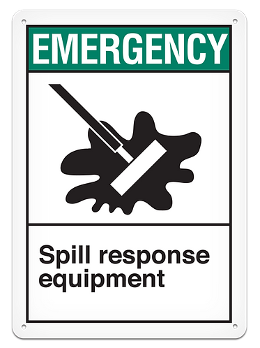 EMERGENCY - Spill Response Equipment