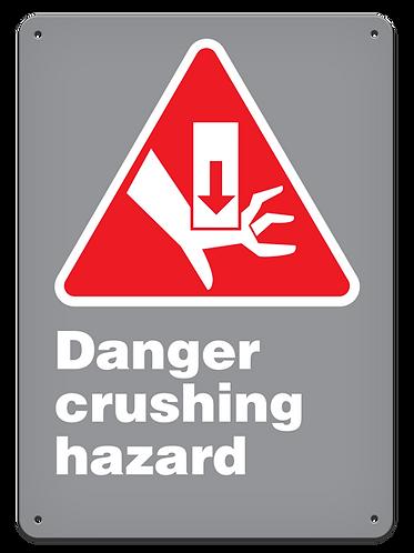 DANGER - Danger Crushing Hazard