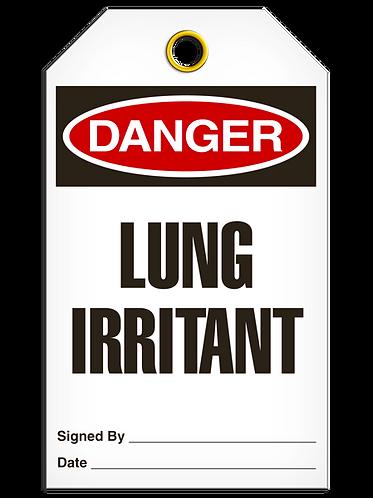 DANGER  -  Lung Irritant