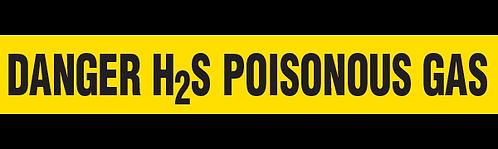 DANGER H2S POISONOUS GAS