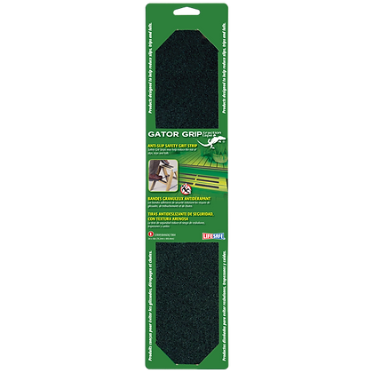 "Gator Grip® Anti-Slip Safety Grit Strip 3"" x 16"""