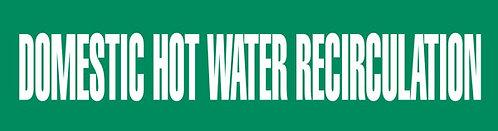 PM1096 - DOMESTIC HOT WATER RECIRCULATION