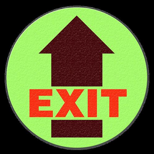 Exit Glow Floor Sign