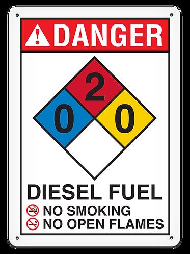 NFPA - DANGER Diesel