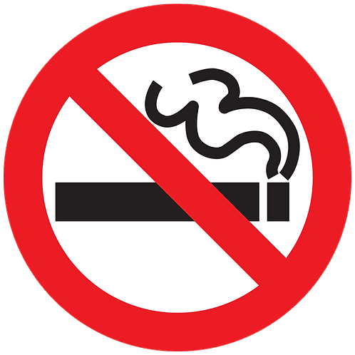 Prohibited - No Smoking
