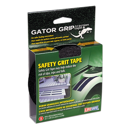 Gator Grip® Anti-Slip Safety Grit Tape 15ft (Black)