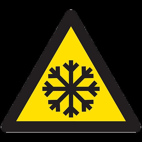 WARNING - Freezing Hazard
