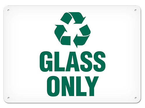 RECYCLE - Glass Only