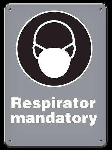 MANDATORY - Respirator Mandatory