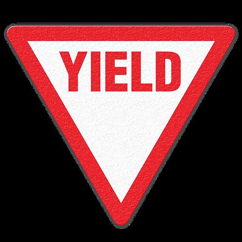 Yield Floor Sign