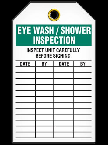 Inspection  -  Eye Wash/Shower