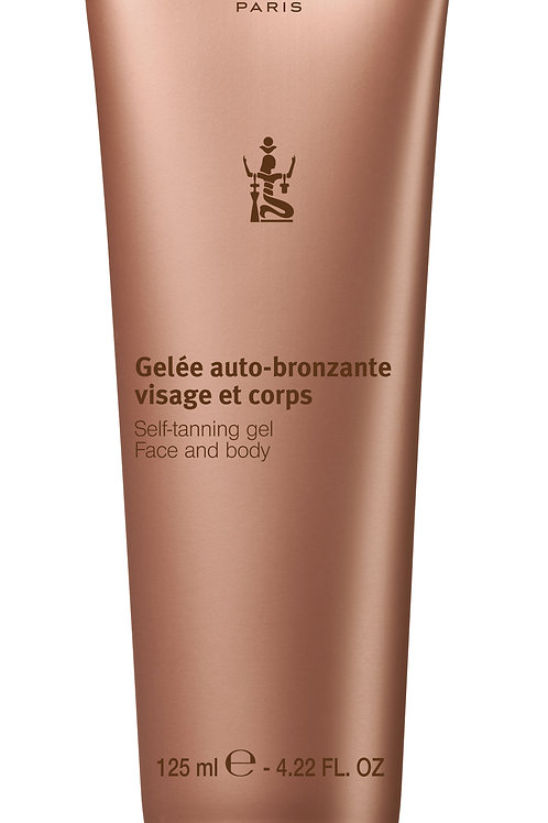 Self-tanning gel face and body