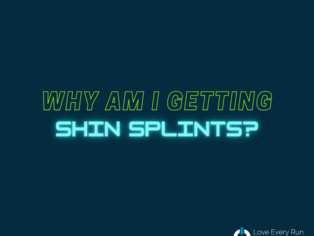 Running with Shin Splints - Why Do We Get Them?