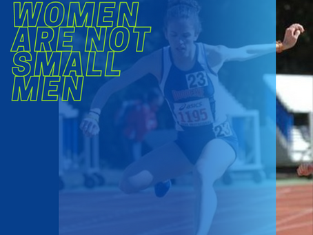 Dear Female Runner (and anyone in their corner)...