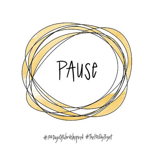 03/100 - Pause