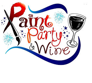 Purchase the gift of painting with Paint Party and Wine $30 and $40 Gift Certificates