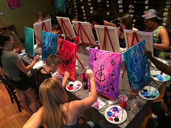 Classes every Saturday at 1:00 P.M. Prices include wine or beer. Happy Hour 12-6 P.M.