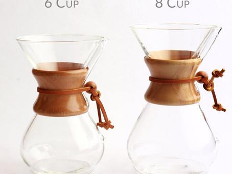 Cà phê thơm ngon với Chemex