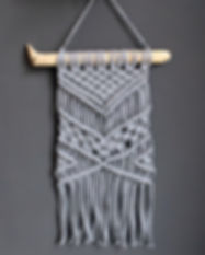 Makramee Wallhanging Wandbehang