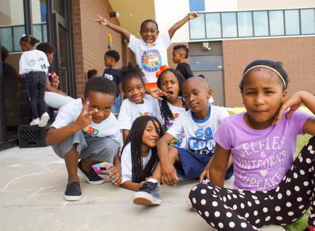 Thrive 9th Ward Kicks Off Summer Camp with 125 Kids