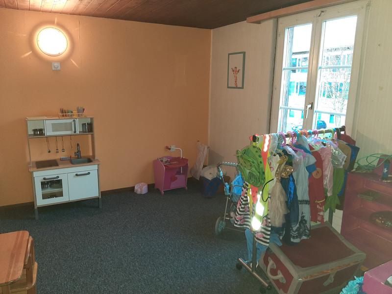 Das Familienzimmer mit Umkleidemöglichkeiten