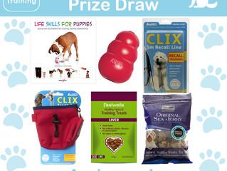 New Puppy Prize Draw