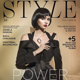Style cover editorial @the agenc @arshio