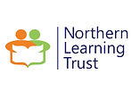 The words 'Northern Learning Trust' next to two figures sharing a book