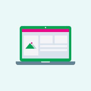 an open laptop showing a webpage