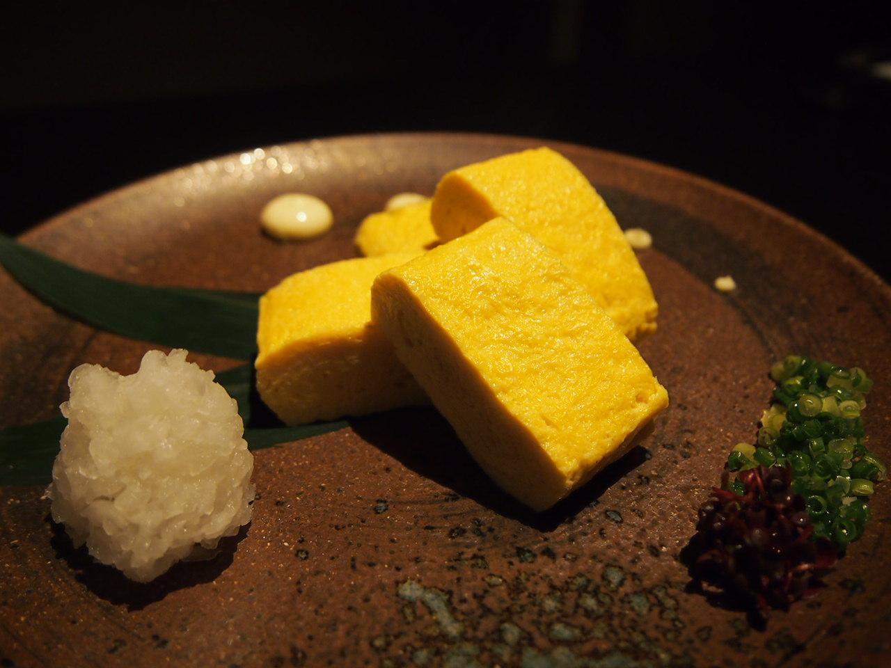 糸島卵の出汁巻